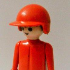 Playmobil: PLAYMOBIL C120 FIGURA 1ª EPOCA MANOS FIJAS AÑOS 80 PILOTO IDEAL ESCENAS CITY GRANJA. Lote 103030775