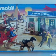 Playmobil: PLAYMOBIL DILIGENCIA Y OFICINA DEL SHERIFF REF 4431 (2003). EDICIÓN 30 ANIVERSARIO. Lote 103127950