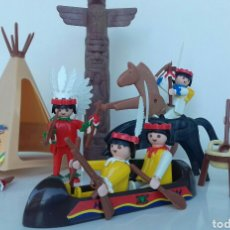 Playmobil: PLAYMOBIL CAMPAMENTO INDIOS OESTE REF 3483 (1980). Lote 103129371