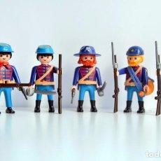 Playmobil: PLAYMOBIL GUERRA DE SECESIÓN - PELOTÓN NORDISTA (OESTE, WESTERN, CUSTOM). Lote 103217211