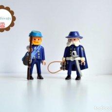 Playmobil: PLAYMOBIL GUERRA DE SECESIÓN - CAPITÁN Y SARGENTO NORDISTAS (OESTE, WESTERN, CUSTOM). Lote 103217891