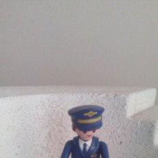 Playmobil: MUÑECO - FIGURA PLAYMOBIL GEOBRA 1997 AERO LINE PILOTO . Lote 103384895