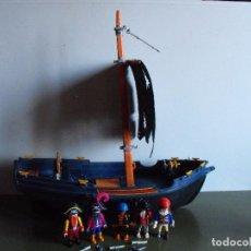 Playmobil: PLAYMOBIL. BARCO CORSARIO. REF. 3029. BARCO INCOMPLETO. TRIPULACIÓN COMPLETA.. Lote 103461275