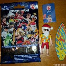 Playmobil: FIGURA PLAYMOBIL SANTA CLAUS PAPÁ NOEL SURFERO NAVIDAD SERIE 6 NUEVO MUÑECO. Lote 103463163