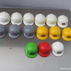 Playmobil: PLAYMOBIL SOMBRERO, GORRO, CASCO DE OBRA, CIUDAD, CONSTRUCCIÓN, ACCIÓN. Lote 103482575