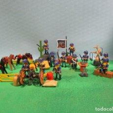 Playmobil: PLAYMOBIL-OESTE-SOLDADOS NORDISTAS-FUERTE-SUDISTAS-WESTERN. Lote 103539271