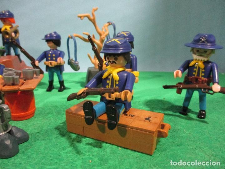 Playmobil: PLAYMOBIL-OESTE-SOLDADOS NORDISTAS-FUERTE-SUDISTAS-WESTERN - Foto 4 - 103539271