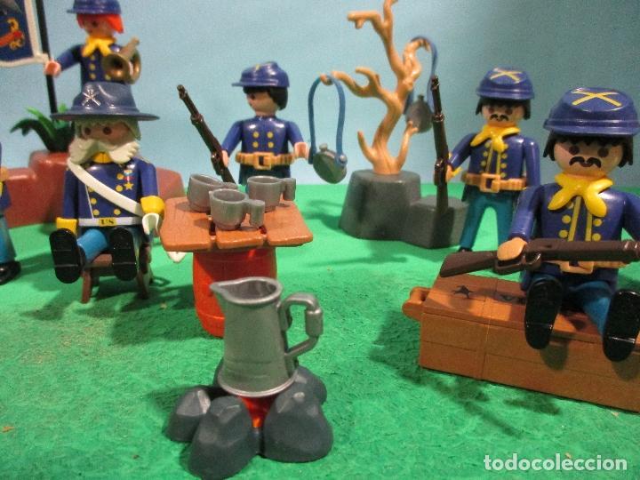 Playmobil: PLAYMOBIL-OESTE-SOLDADOS NORDISTAS-FUERTE-SUDISTAS-WESTERN - Foto 5 - 103539271