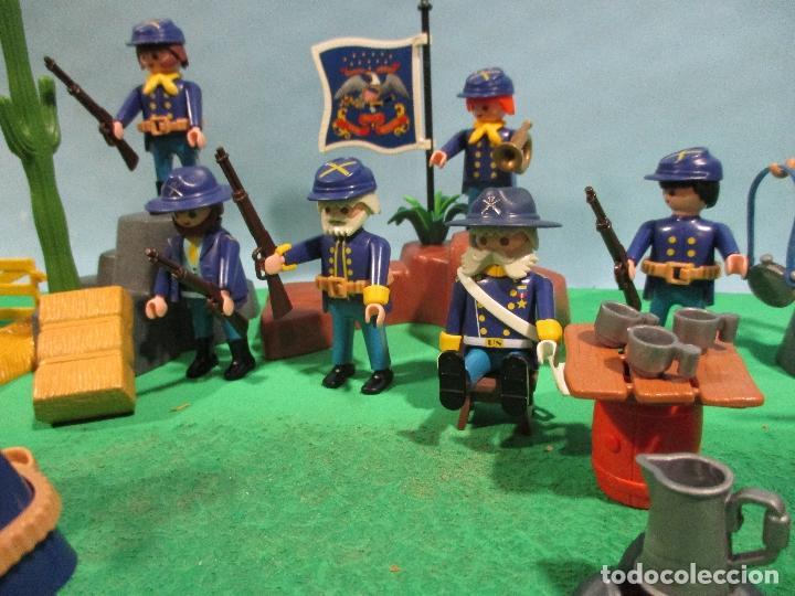 Playmobil: PLAYMOBIL-OESTE-SOLDADOS NORDISTAS-FUERTE-SUDISTAS-WESTERN - Foto 6 - 103539271
