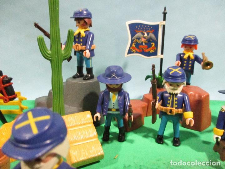 Playmobil: PLAYMOBIL-OESTE-SOLDADOS NORDISTAS-FUERTE-SUDISTAS-WESTERN - Foto 7 - 103539271