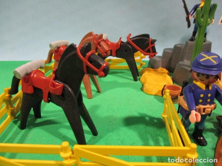 Playmobil: PLAYMOBIL-OESTE-SOLDADOS NORDISTAS-FUERTE-SUDISTAS-WESTERN - Foto 8 - 103539271