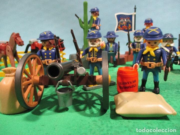 Playmobil: PLAYMOBIL-OESTE-SOLDADOS NORDISTAS-FUERTE-SUDISTAS-WESTERN - Foto 9 - 103539271