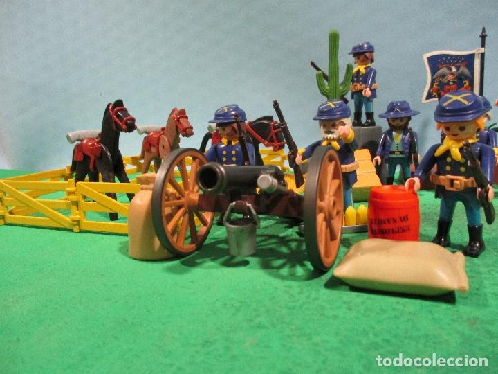 Playmobil: PLAYMOBIL-OESTE-SOLDADOS NORDISTAS-FUERTE-SUDISTAS-WESTERN - Foto 10 - 103539271