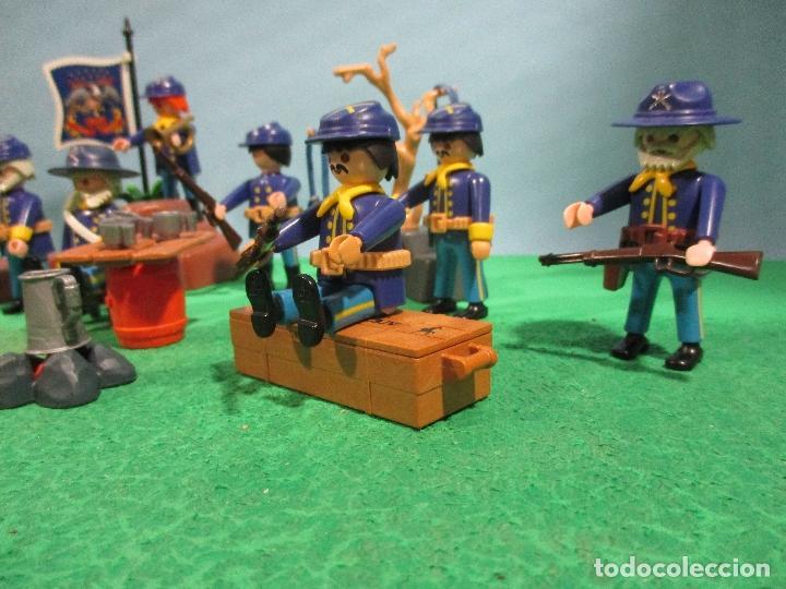 Playmobil: PLAYMOBIL-OESTE-SOLDADOS NORDISTAS-FUERTE-SUDISTAS-WESTERN - Foto 11 - 103539271