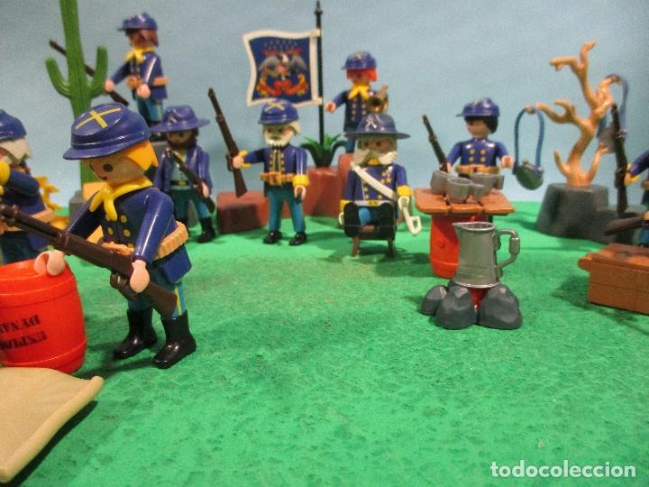 Playmobil: PLAYMOBIL-OESTE-SOLDADOS NORDISTAS-FUERTE-SUDISTAS-WESTERN - Foto 12 - 103539271