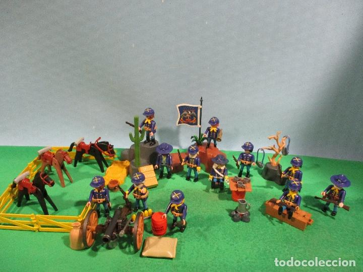 Playmobil: PLAYMOBIL-OESTE-SOLDADOS NORDISTAS-FUERTE-SUDISTAS-WESTERN - Foto 13 - 103539271