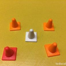 Playmobil: PLAYMOBIL LOTE CONO PEQUEÑO OBRA POLICÍA. Lote 103697471