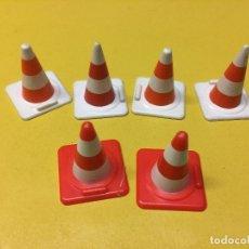 Playmobil: PLAYMOBIL LOTE COMO OBRA BLANCO ROJO . Lote 103697947