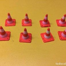 Playmobil: PLAYMOBIL LOTE COMO OBRA POLICÍA CALLE ROJO . Lote 103698075