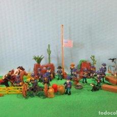Playmobil: PLAYMOBIL-OESTE-SOLDADOS NORDISTAS-CAMPAMENTO NORDISTA-FORT-WESTERN. Lote 146898280