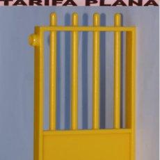 Playmobil: VALLA PUERTA DE ZOO, PARQUE GRANJA .... DE PLAYMOBIL USADO TAL Y COMO SE VE. Lote 103783207