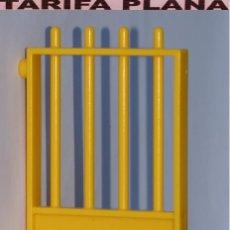 Playmobil: VALLA PUERTA DE ZOO, PARQUE GRANJA .... DE PLAYMOBIL USADO TAL Y COMO SE VE. Lote 103783371