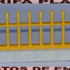 Playmobil: VALLA DE ZOO, PARQUE GRANJA .... DE PLAYMOBIL USADO TAL Y COMO SE VE. Lote 103783559