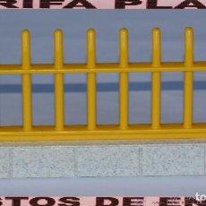 Playmobil: VALLA DE ZOO, PARQUE GRANJA .... DE PLAYMOBIL USADO TAL Y COMO SE VE. Lote 103783703