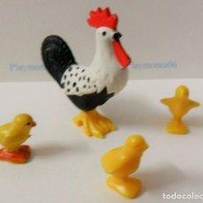 Playmobil: PLAYMOBIL C014 ANIMAL GALLO IDEAL COMPLETAR ESCENAS MEDIEVALES BOSQUES BELEN GRANJA GALLINERO. Lote 103785155