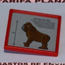 Playmobil: CARTEL GORILA ZOO DE PLAYMOBIL USADO TAL Y COMO SE VE. Lote 103785247