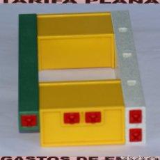 Playmobil: PARTE DE PARED PUESTO DE ENTRADA VALLA CRISTAL DE ZOO, PARQUE GRANJA .... DE PLAYMOBIL USADO TAL . Lote 103785551