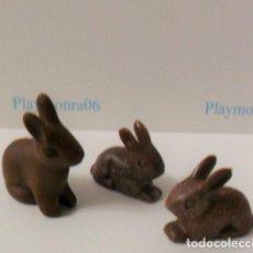 Playmobil: PLAYMOBIL C014 ANIMAL CONEJOS IDEAL COMPLETAR ESCENAS MEDIEVALES BOSQUES BELEN GRANJA GALLINERO. Lote 103785639