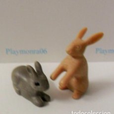 Playmobil: PLAYMOBIL C014 ANIMAL CONEJOS IDEAL COMPLETAR ESCENAS MEDIEVALES BOSQUES BELEN GRANJA GALLINERO. Lote 103785723
