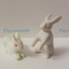 Playmobil: PLAYMOBIL C014 ANIMAL CONEJOS IDEAL COMPLETAR ESCENAS MEDIEVALES BOSQUES BELEN GRANJA GALLINERO. Lote 103785803