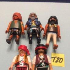 Playmobil: LOTE PLAYMOBIL FIGURAS PIRATAS VARIOS (T20). Lote 103792643