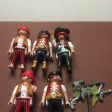 Playmobil: LOTE PLAYMOBIL FIGURAS PIRATAS CON ARMAS (O56). Lote 103793367
