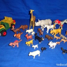 Playmobil: PLAYMOBIL - LOTE ANIMALES Y COCHE PLAYMOBIL VER FOTOS! SM. Lote 103802323