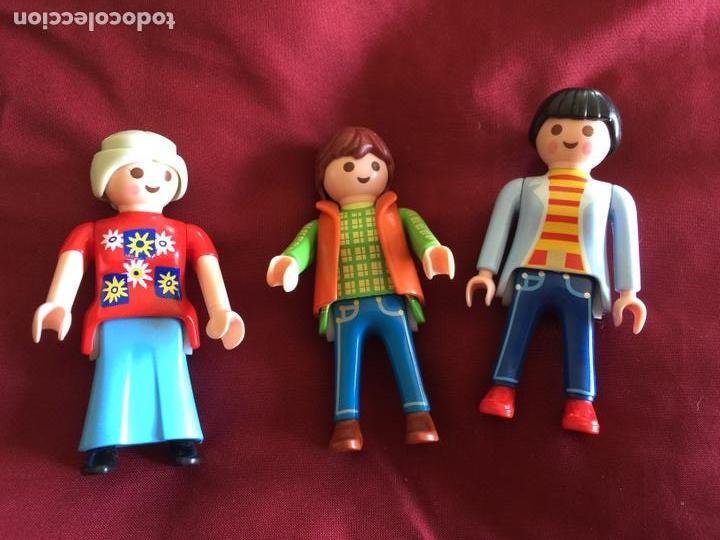 LOTE 3 MUÑECAS PLAYMOBIL AÑOS 80 (Juguetes - Playmobil)