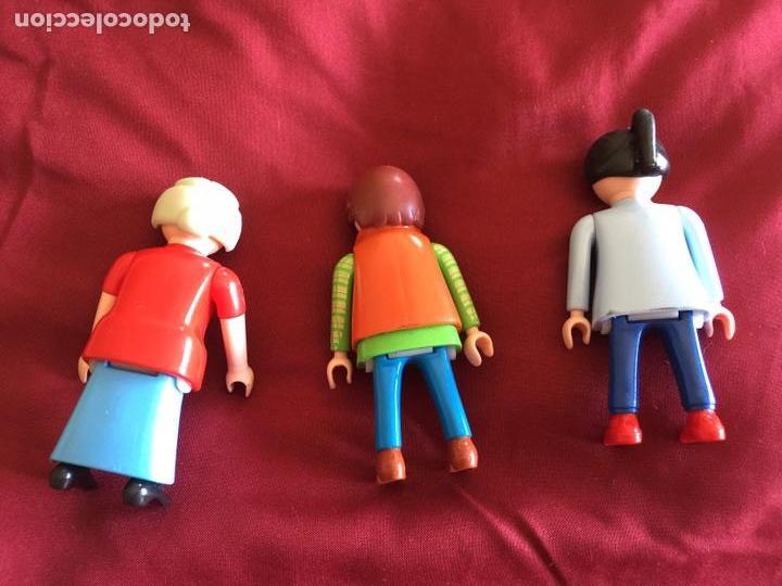 Playmobil: Lote 3 muñecas Playmobil años 80 - Foto 2 - 103843242