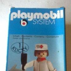 Playmobil: PLAYMOBIL REF. 3361 ENFERMERO EN CAJA DESCATALAGODO DE LOS 70'. Lote 103913699