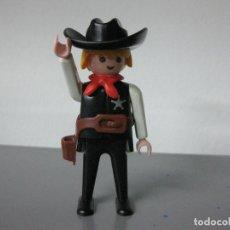 Playmobil: PLAYMOBIL OESTE VAQUERO SHERIFF ANTIGUO. Lote 104195351