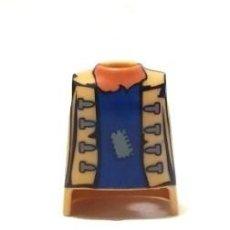 Playmobil: PLAYMOBIL PIEZAS, TORSO CHICO BEIGE,PIRATAS,CAMPESINOS MEDIEVALES,OESTE, BELÉN, PIEL TOSTADA. Lote 104238823