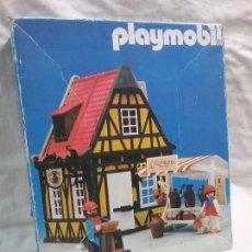 Playmobil: ANTIGUA CASA ALFARERÍA REFERENCIA 3455 CON TORNO ALFARERO DE PLAYMOBIL - EN CAJA . Lote 104522579