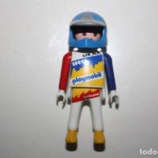 Playmobil: PLAYMOBIL FIGURA MOTORISTA CROSS. Lote 104589219