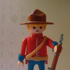 Playmobil: PLAYMOBIL SOLDADOS DE LA HISTORIA POLICÍA MONTADA DEL CANADÁ. Lote 151788613