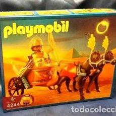 Playmobil: PLAYMOBIL 4244 NUEVO, CAJA SIN ABRIR CARRO DEL FARAÓN , ROMANOS, EGIPCIOS, BELÉN. Lote 140803632