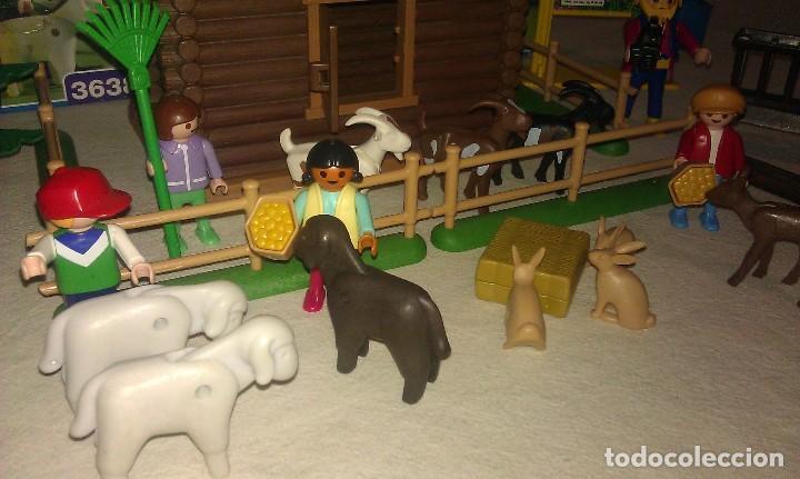 Playmobil: ZOO SILVESTRE CON CABAÑA DE CAMPO DE PLAYMOBIL REF. 3638 PRÁCTICAMENTE COMPLETO EN SU CAJA ORIGINAL - Foto 7 - 105698667