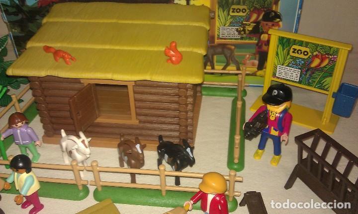Playmobil: ZOO SILVESTRE CON CABAÑA DE CAMPO DE PLAYMOBIL REF. 3638 PRÁCTICAMENTE COMPLETO EN SU CAJA ORIGINAL - Foto 8 - 105698667