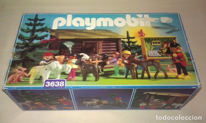 Playmobil: ZOO SILVESTRE CON CABAÑA DE CAMPO DE PLAYMOBIL REF. 3638 PRÁCTICAMENTE COMPLETO EN SU CAJA ORIGINAL - Foto 9 - 105698667