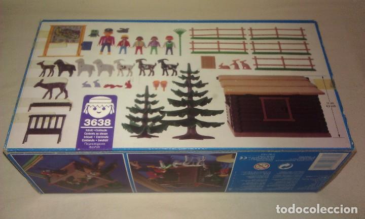 Playmobil: ZOO SILVESTRE CON CABAÑA DE CAMPO DE PLAYMOBIL REF. 3638 PRÁCTICAMENTE COMPLETO EN SU CAJA ORIGINAL - Foto 10 - 105698667